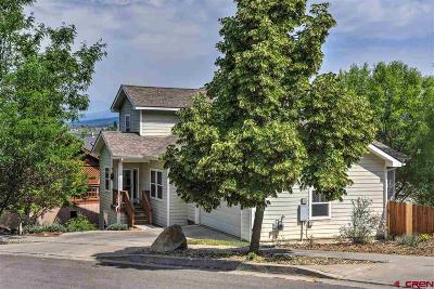 Durango Single Family Home For Sale: 19 Coalbank Drive