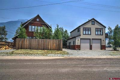 Silverton Single Family Home For Sale: 1105 Cement Street