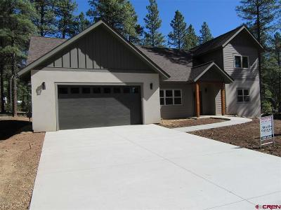 Durango Single Family Home For Sale: 325 Hay Barn Road
