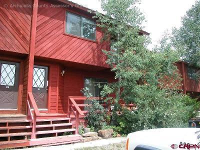 Pagosa Springs Condo/Townhouse For Sale: 413 E Golf