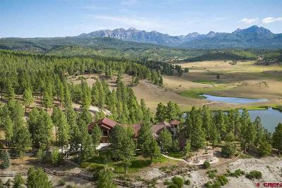 Pagosa Springs Single Family Home For Sale: 3101 Hidden Valley Drive