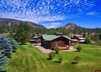 Pagosa Springs Single Family Home For Sale: 111 Chambers Place