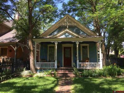 Durango Single Family Home For Sale: 721 E 3rd Avenue