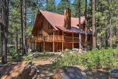 La Plata County Single Family Home For Sale: 114 Mountain Shadow Drive