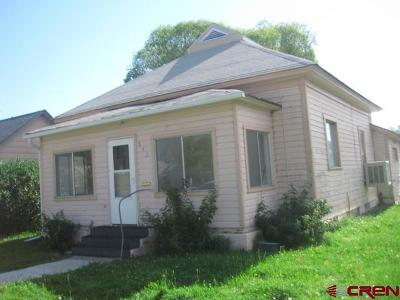 Delta CO Single Family Home For Sale: $75,000