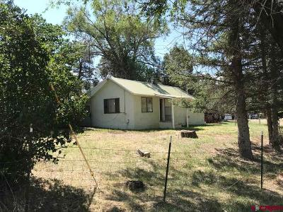 Hesperus Single Family Home For Sale: 15557 Hwy 140