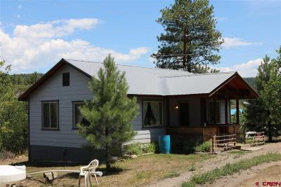 Pagosa Springs Single Family Home UC/Contingent/Call LB: 114 River Run Drive