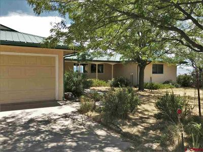 Hotchkiss, Crawford, Paonia Single Family Home For Sale: 38416 Stucker Mesa Road