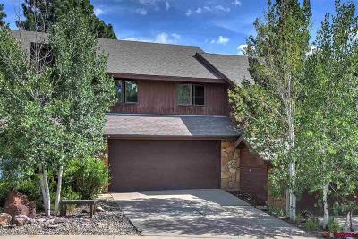 Durango Condo/Townhouse For Sale: 275 Pine Ridge Loop #4D