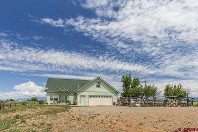 La Plata County Single Family Home UC/Contingent/Call LB: 2550 Cr 308