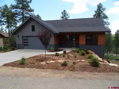 La Plata County Single Family Home For Sale: 69 Snowslide Court