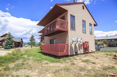 Pagosa Springs Condo/Townhouse For Sale: 578 Lakeside Drive #9