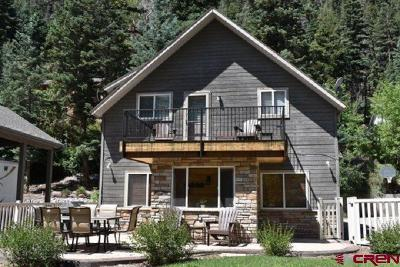 Ouray Single Family Home For Sale: 1554 Oak