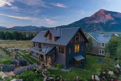 Crested Butte CO Single Family Home For Sale: $4,200,000