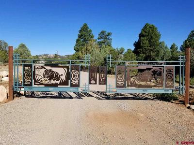 Durango Residential Lots & Land For Sale: 6 Turkey Trot