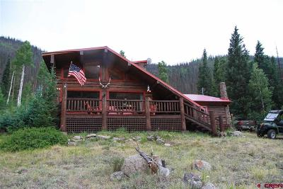 Creede Single Family Home UC/Contingent/Call LB: 2150 Usfs 520 Road