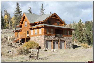 Creede Single Family Home For Sale: 32480 Highway 149 Highway
