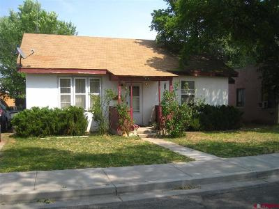 Cortez CO Single Family Home For Sale: $128,000