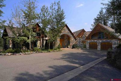 Crested Butte CO Single Family Home For Sale: $3,900,000