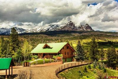 Pagosa Springs Single Family Home For Sale: 2851 Cty Rd. 382