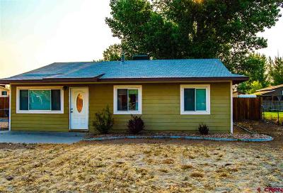 Delta CO Single Family Home UC/Contingent/Call LB: $169,000