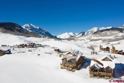 Mt. Crested Butte Single Family Home For Sale: 14 Appaloosa Road