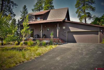 La Plata County Single Family Home For Sale: 195 Red Canyon Trail #I