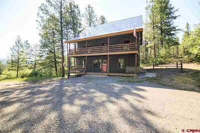Pagosa Springs Single Family Home For Sale: 520 Whispering Wood Drive