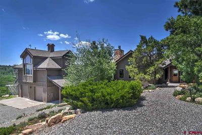 La Plata County Single Family Home For Sale: 2127 Durango Ridge Road