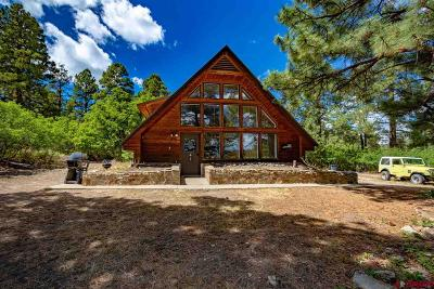 Pagosa Springs Single Family Home For Sale: 511 Blue Jay Circle