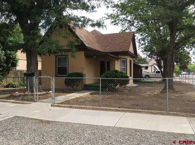 Delta CO Single Family Home For Sale: $157,000
