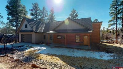 Durango Single Family Home For Sale: 15 Cave Basin