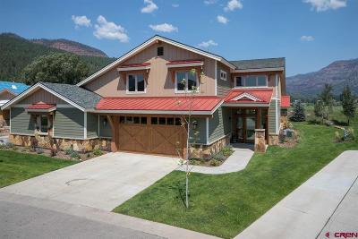 Durango CO Condo/Townhouse NEW: $779,000
