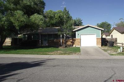 Montrose CO Single Family Home For Sale: $189,950