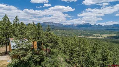 Pagosa Springs Single Family Home For Sale: 2500 Sonlight Place