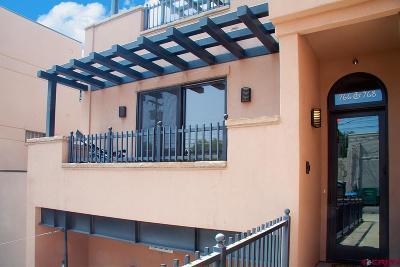 Durango Condo/Townhouse For Sale: 766 Main Avenue #201