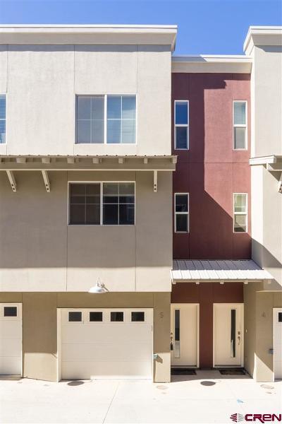 Durango Condo/Townhouse For Sale: 1140 Carbon Junction #5
