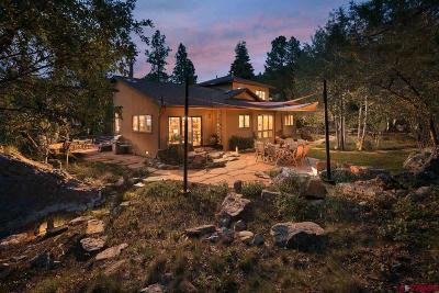 La Plata County Single Family Home For Sale: 120 Trail Ridge Road