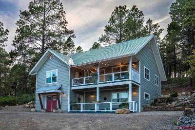 Pagosa Springs Single Family Home For Sale: 803 Aspenglow Boulevard