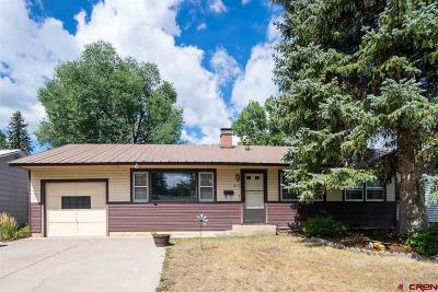 Durango Single Family Home UC/Contingent/Call LB: 2115 Eastlawn