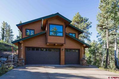 Durango Single Family Home For Sale: 1973 Lake Purgatory Drive