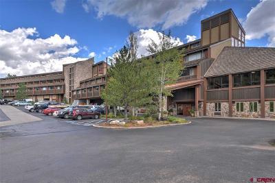Durango Condo/Townhouse UC/Contingent/Call LB: 314 N Tamarron Drive #334