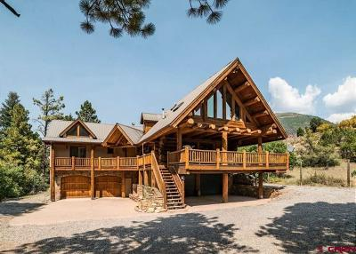 Ouray County Single Family Home For Sale: 842 Mary's Road