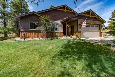 Pagosa Springs Single Family Home UC/Contingent/Call LB: 1652 Lake Forest Circle