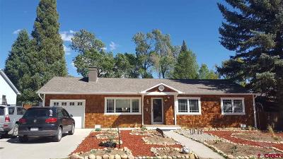 Durango Single Family Home For Sale: 1924 Forest Avenue