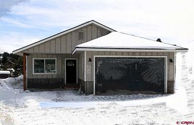 Pagosa Springs Single Family Home UC/Contingent/Call LB: 221 Carpin Circle