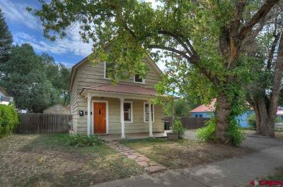 Durango Single Family Home For Sale: 2310 W 2nd Avenue