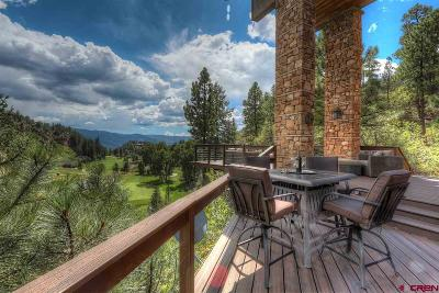 Durango Single Family Home For Sale: 160 Peregrine Drive