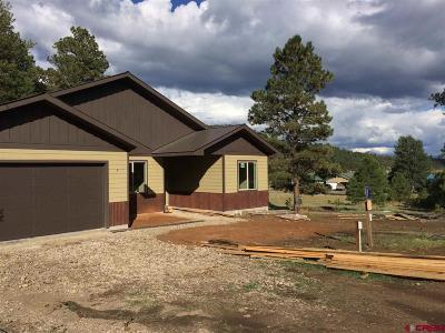 Pagosa Springs Single Family Home For Sale: 573 Falcon Place