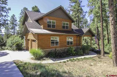 Durango Single Family Home For Sale: 47 Mill Creek Court